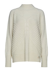 harmony play turtleneck - LIGHT CHALK