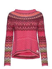 vivid vibration sweater - MULTI