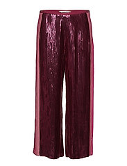 fast lane pants - WINE
