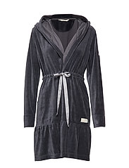 early riser bathrobe - GREY