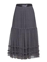 misty magic skirt - CLOUDY GREY