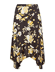 love bells skirt - ALMOST BLACK