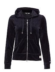 slow jam jacket - ALMOST BLACK