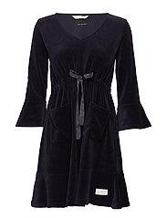 slow jam dress - ALMOST BLACK