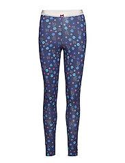 love flame pyjamas pant - DARK BLUE