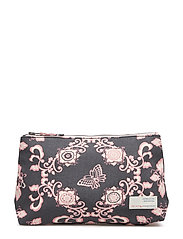 flickering dawn beauty bag - ASPHALT