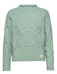 Spun Dreams Sweater - MISTY MINT