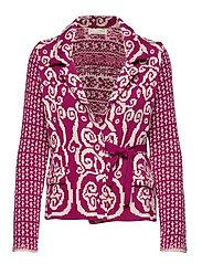 Knitted Love Cardigan - FIREWORK FUCHSIA