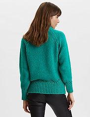ODD MOLLY - Novelty Sweater - turtlenecks - bright emerald - 4