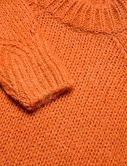 ODD MOLLY - Novelty Sweater - turtlenecks - sunset orange - 3