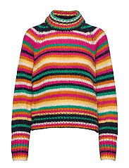 Novelty Stripe Sweater - MULTI