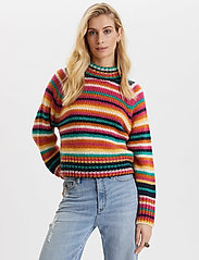 ODD MOLLY - Novelty Stripe Sweater - turtlenecks - multi - 0