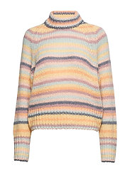 Novelty Stripe Sweater - SOFT STRIPE