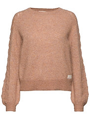 Cool With Wool Sweater - CHOCOLATE CREAM