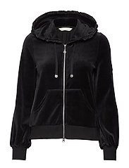 Velouragenius Hood Jacket - ALMOST BLACK