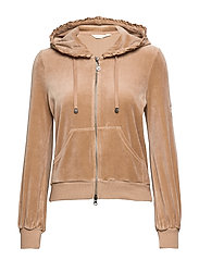 Velouragenius Hood Jacket - CHOCOLATE CREAM