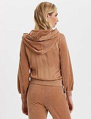 ODD MOLLY - Velouragenius Hood Jacket - pulls à capuche - chocolate cream - 7