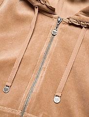 ODD MOLLY - Velouragenius Hood Jacket - pulls à capuche - chocolate cream - 3