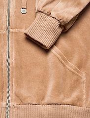ODD MOLLY - Velouragenius Hood Jacket - pulls à capuche - chocolate cream - 4