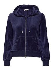 Velouragenius Hood Jacket - NIGHT SKY BLUE