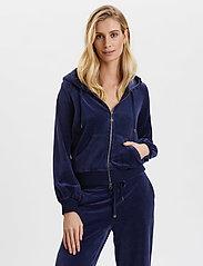ODD MOLLY - Velouragenius Hood Jacket - pulls à capuche - night sky blue - 0