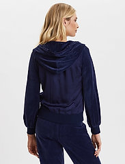 ODD MOLLY - Velouragenius Hood Jacket - pulls à capuche - night sky blue - 7