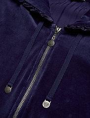 ODD MOLLY - Velouragenius Hood Jacket - pulls à capuche - night sky blue - 3