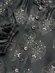 ODD MOLLY - My Medallion Dress - midi kjoler - dark shadow - 3