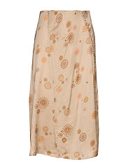 Praise This Skirt - LIGHT TAUPE