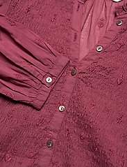ODD MOLLY - Melinda Blouse - langærmede bluser - baked burgundy - 4