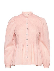Melinda Blouse - SMOKE ROSE