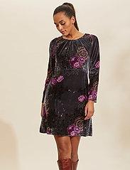 ODD MOLLY - Vera Dress - hverdagskjoler - asphalt - 0