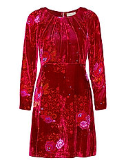 Vera Dress - VIVID RED