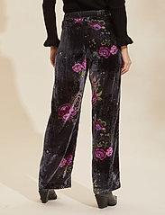 ODD MOLLY - Vera Pants - bukser med brede ben - asphalt - 3