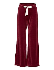 Marion Pants - BAKED BURGUNDY
