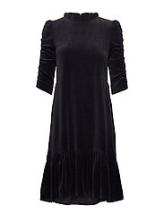 Marion Dress - ALMOST BLACK