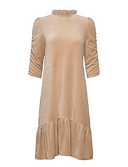 Marion Dress - SOFT TAUPE