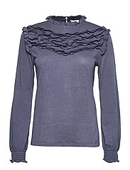 Malou Top - DARK BLUE