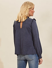 ODD MOLLY - Malou Top - langærmede bluser - dark blue - 3