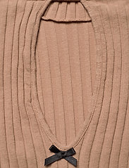 ODD MOLLY - Liza Turtle L/S Top - rullekraver - soft camel - 5