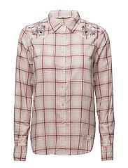 howdy l/s shirt - DESERT ROSE