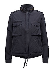step on it jacket - FRENCH NAVY
