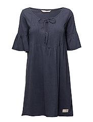 jersey girl dress - DARK BLUE