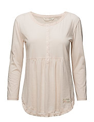 jersey girl l/s top - SOFT ROSE