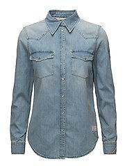 cityfied shirt - MID BLUE