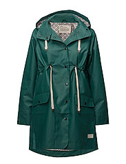 free range rainjacket - GREEN