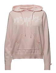 hey baby hood sweater - ROSE