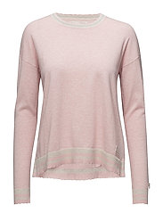 hoower sweater - SOFT ROSE