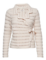 symmetry moves cardigan - PINK PORCELAIN
