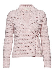 symmetry moves cardigan - SOFT ROSE